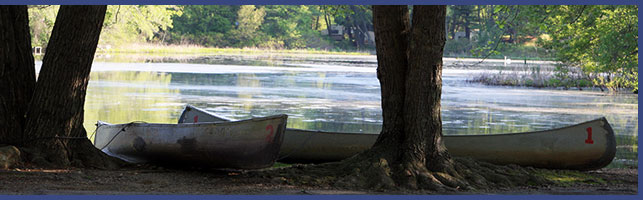 Photo of Canoes and Pond